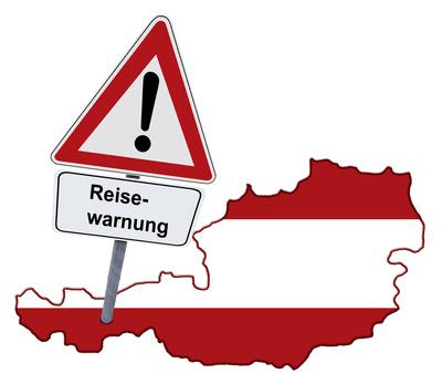 Reisewarnung für Österreich