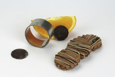 Schoko-Orangen-Plätzchen