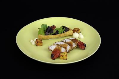 Dukkah-Hühnchen mit Sellerie und Kartoffeln