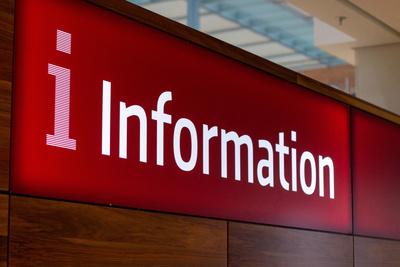 Informationsschalter