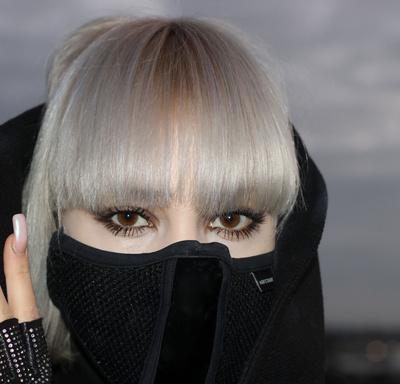 Und nicht die Maske vergessen!