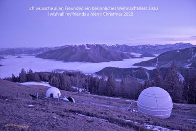 Sternwarte Hohe Dirn Oberösterreich in Ifrarot