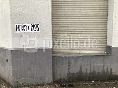 Streetart: Merry Crisis / Foto: Alexander Hauk