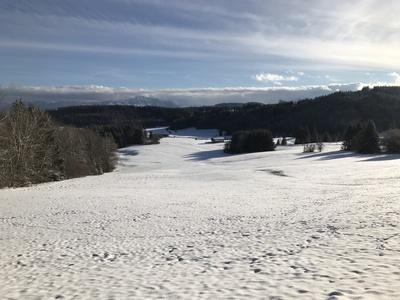 Wintertag im Allgäu.