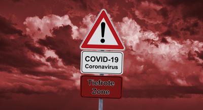 Tiefrote Zone - Coronavirus