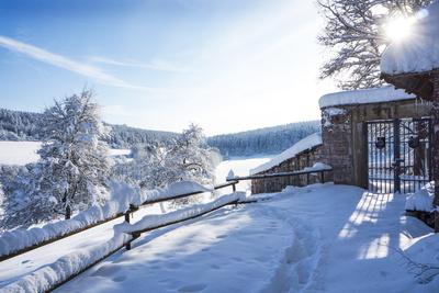 Winterzauber an der Kapelle