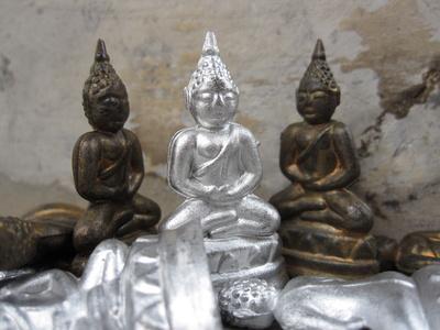 Buddha-Figuren in Thailand