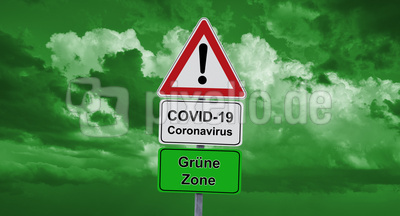 Corona-Ampel – grüne Zone