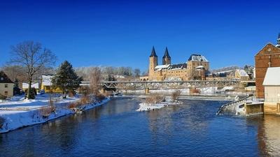 Winter am Rochlitzer Schloss