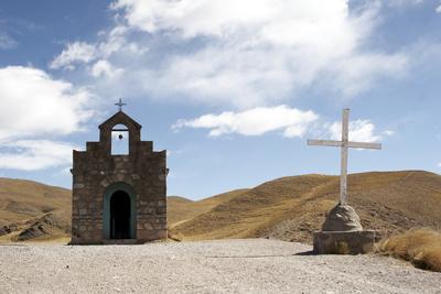 Kapelle in Chile, Atacama-Wüste