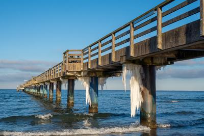 Eiswelten an der Ostsee