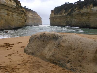 "Küste bei ""Twelve Apostels"" in Australien"