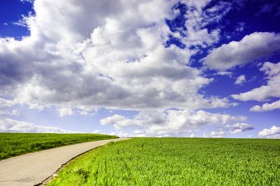 Wanderweg in die Wolken