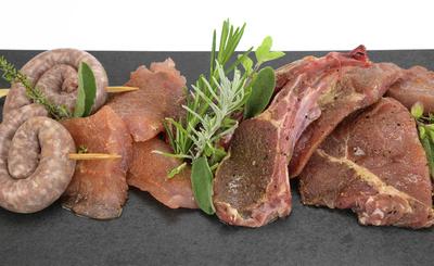 Grillfleisch