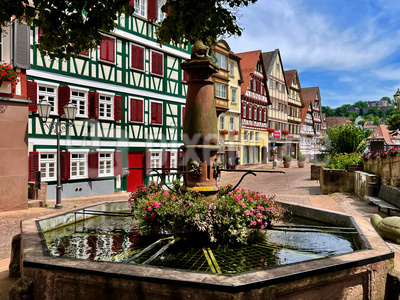 Calw Unterer Marktplatzbrunnen