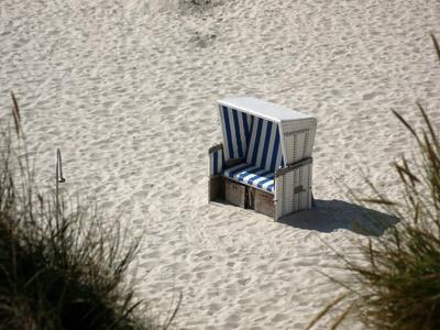 Strandkorb im Norden darf nicht fehlen