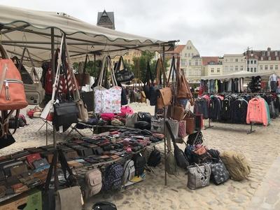 Wochenmarkt in Weimar